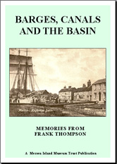 Barges, Canals and the Basin by Frank Thompson