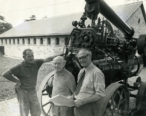 Mersea Museum opening in 1976 - Mervyn Dands, Les Haines and Stanley Hills