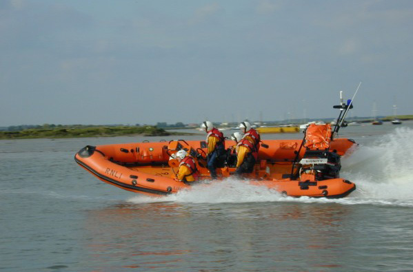 DIGNITY - the present West Mersea Lifeboat