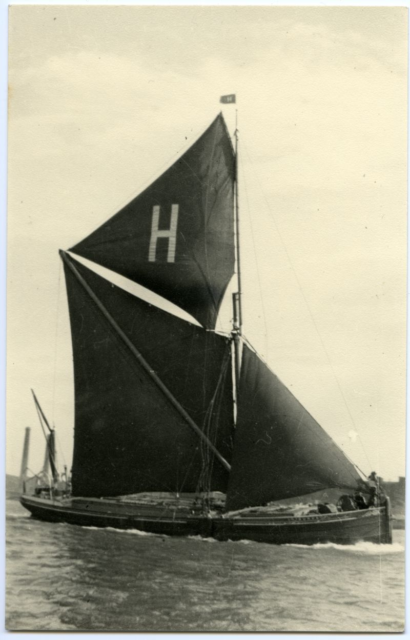 Barge SURGE winner Medway Race off Gravesend 1930 