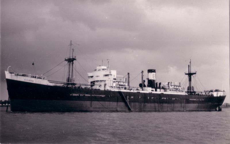 ELSTEAD laid up n the River Blackwater. Date: c1958.