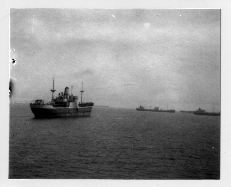 MARKLAND laid up in the River Blackwater 