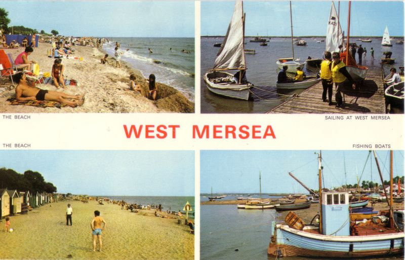 West Mersea postcard. 