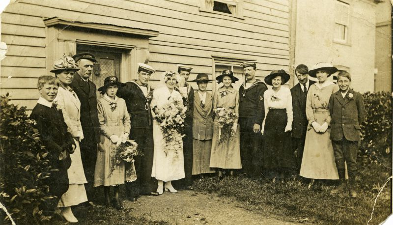 Wedding of Percy Green and Lucy Hoy 29 Sept 1917