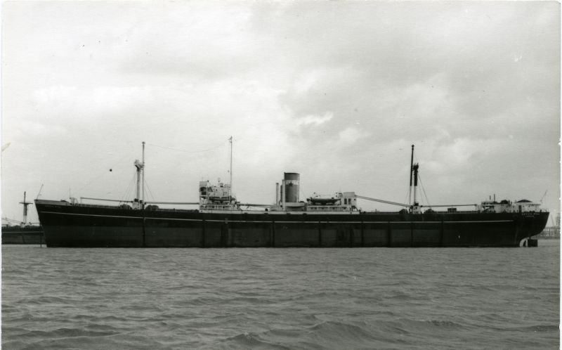 BEECH HILL, probably while laid up in the River Blackwater Date: cFebruary 1958.