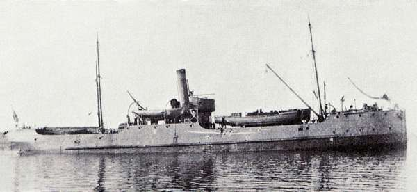 RFA INDUSTRY sunk October 1918