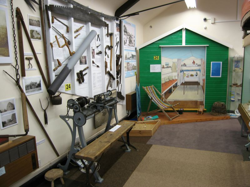 Summer 2014 - farming, boatbuilding, seaside, beach hut