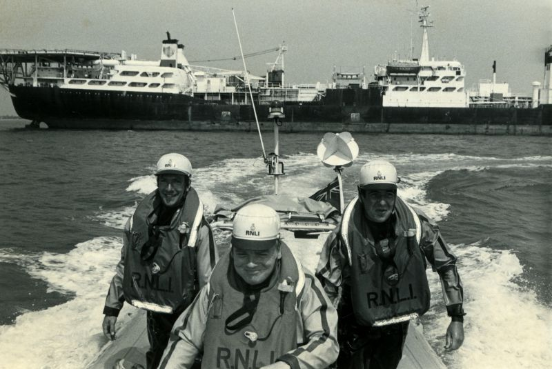 West Mersea Lifeboat B-529 ALEXANDER DUCKHAM. 