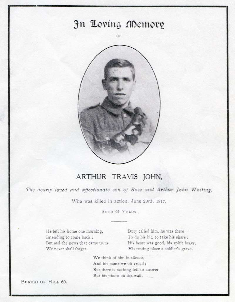 In Loving Memory
