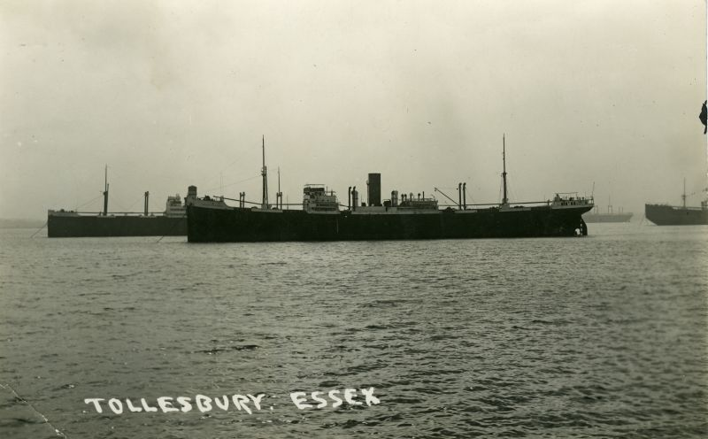 Tollesbury Essex. Postcard not mailed.