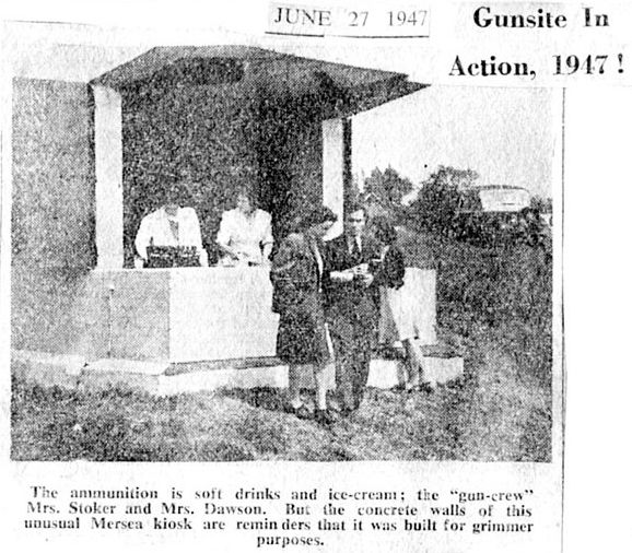 Gunsite in Action. 1947!