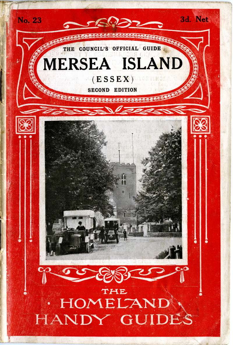 The Homeland Handy Guides No 23. - Mersea Island. Cover. Second Edition. 3d.