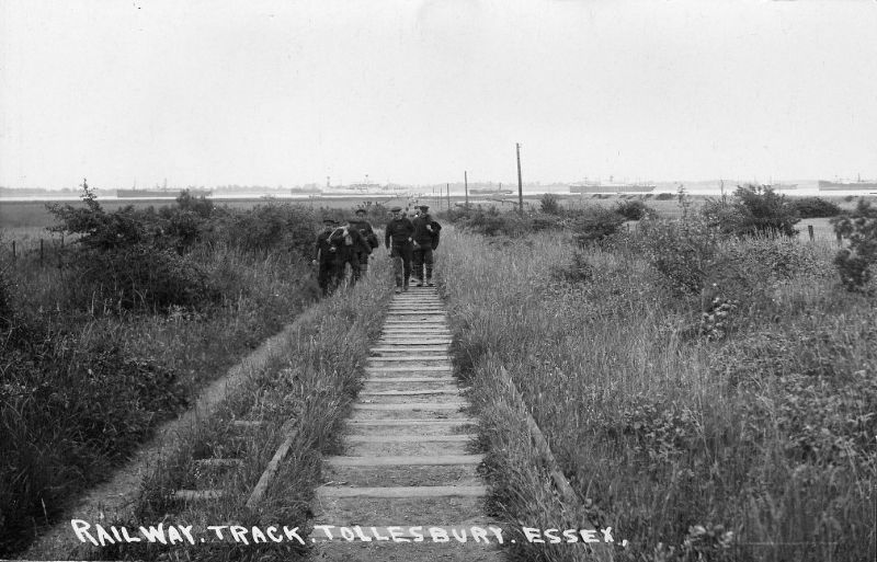 Railway Track, Tollesbury, Essex. 