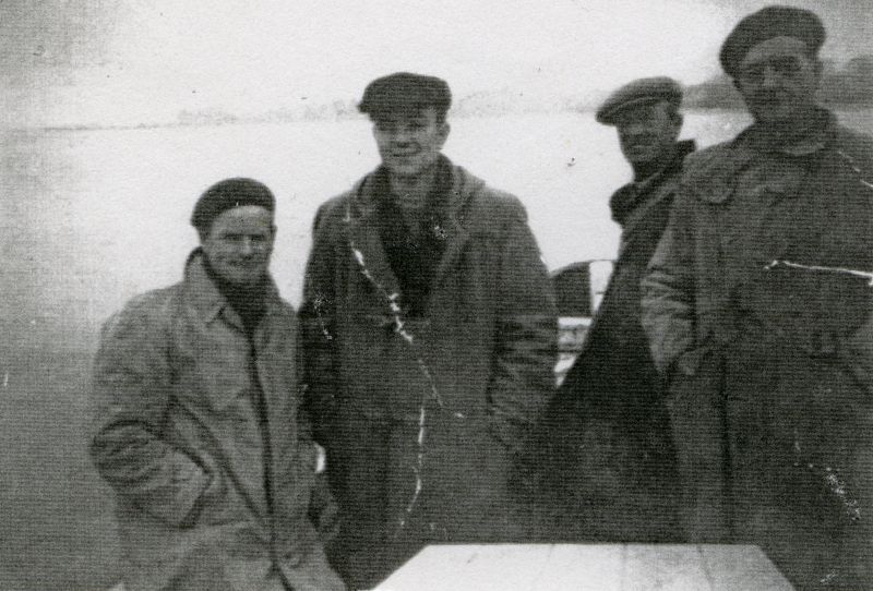 Going out of 'Buzzen' on a hooking trip.