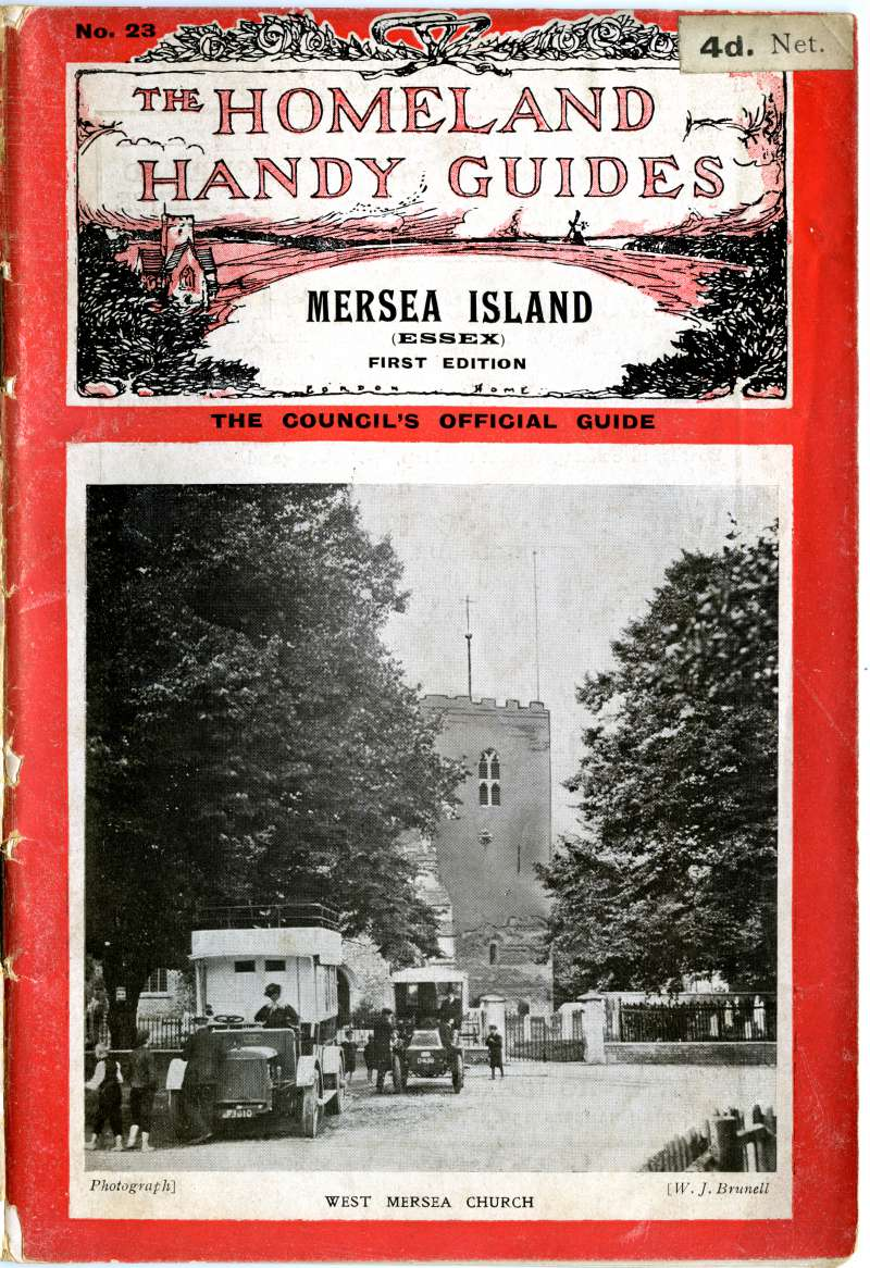 Homeland Handy Guides Mersea Island. First Edition. Cover. 