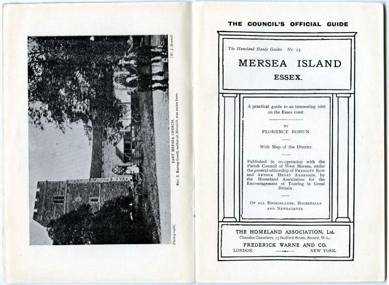 Homeland Handy Guides Mersea Island. First Edition. Page 2. 