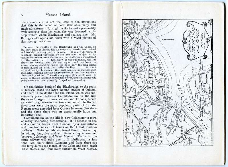 Homeland Handy Guides Mersea Island. First Edition. Page 6. 