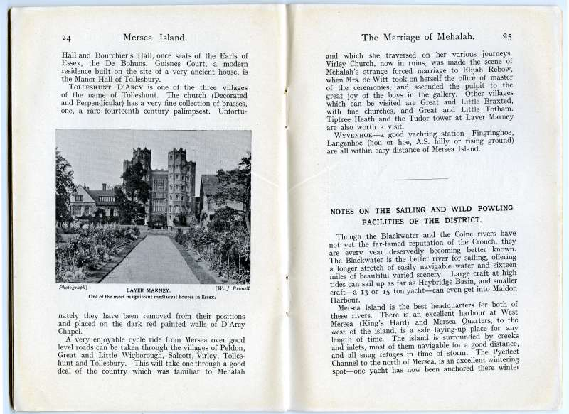 Homeland Handy Guides Mersea Island. First Edition. Page 24. 