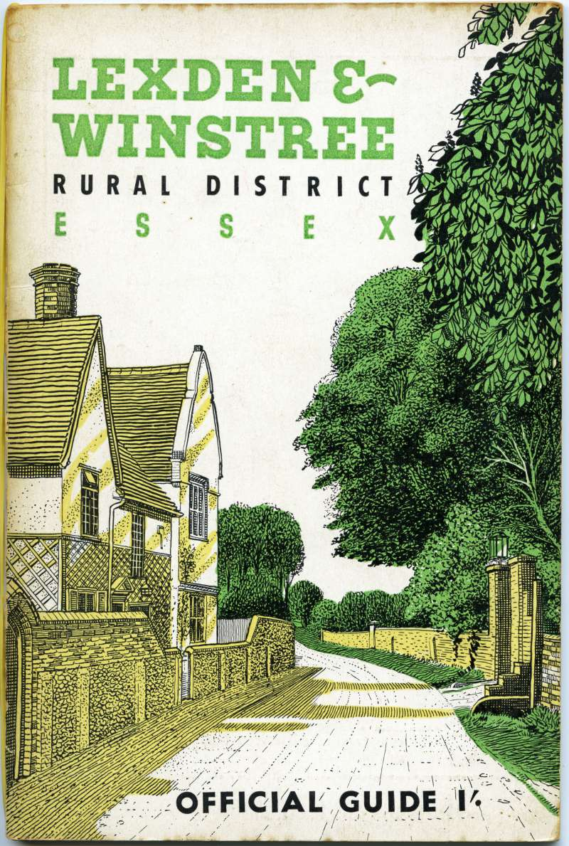 Lexden & Winstree Rural District Essex. Official Guide 1/-.