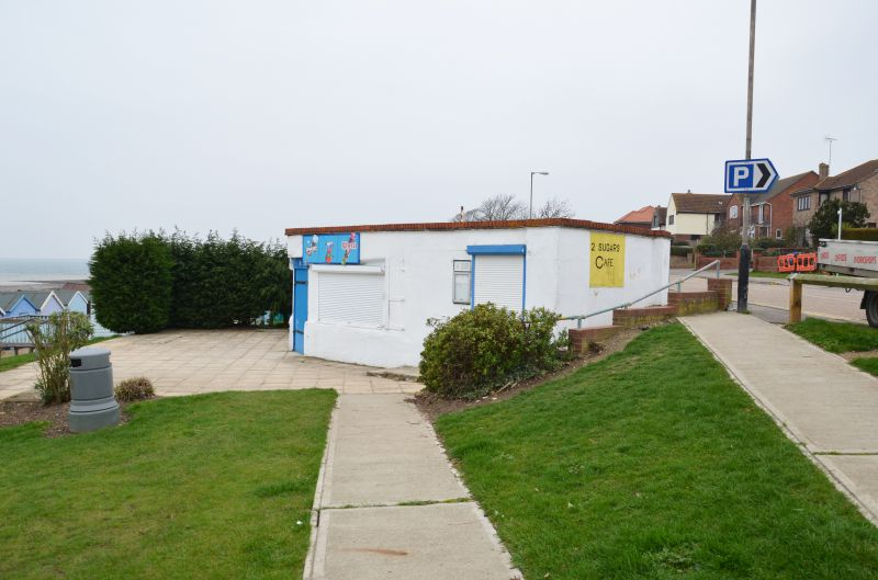 A walk round Mersea Island. WW2 remains. The Two Sugars Cafe - a former WW2 gun emplacement.