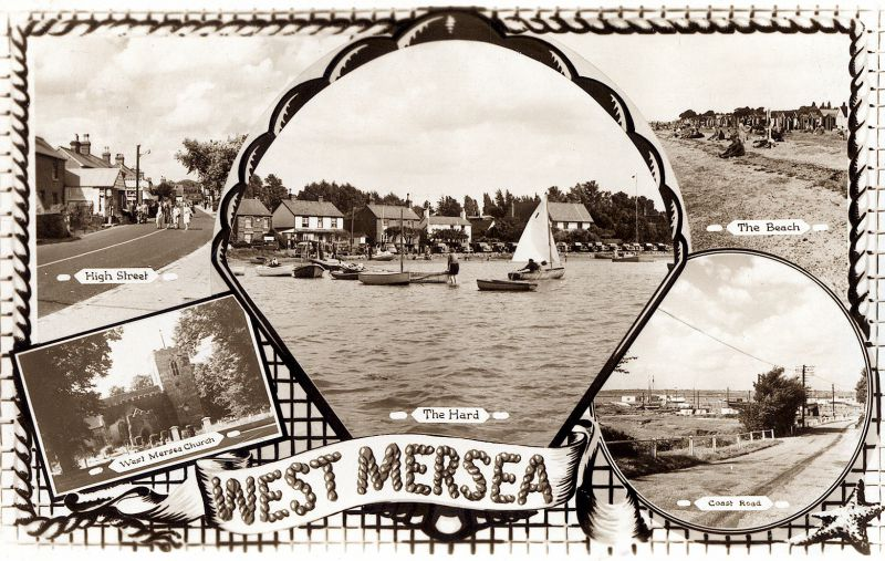 West Mersea postcard 