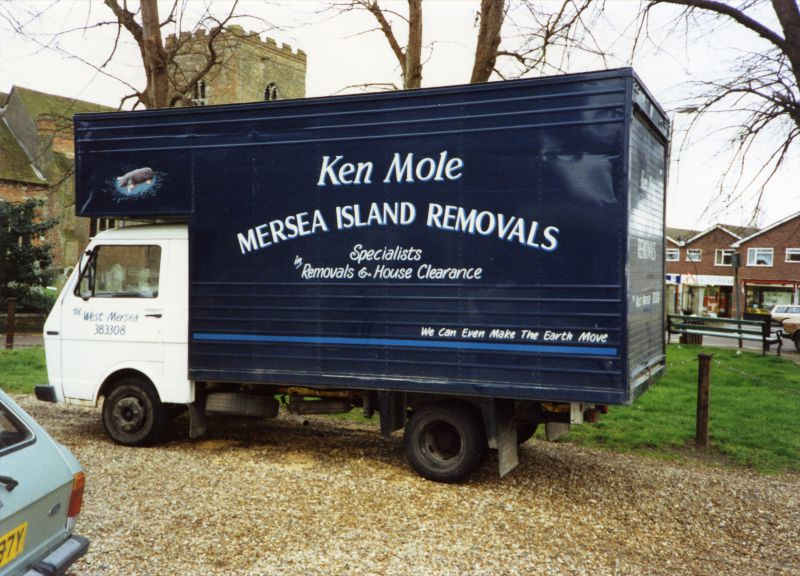 Ken Mole. Mersea Island Removals. 