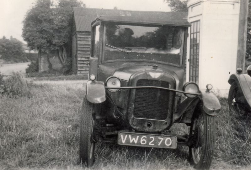 Marge Smith's Austin 7. VW6270 