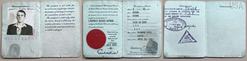 United States of America Seaman Passport