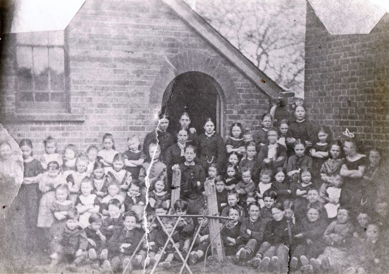 Tollesbury School Group. Used in Tollesbury Past, figure 5, with the caption: