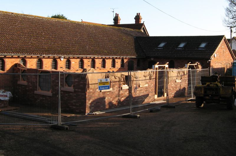Mersea Island Museum - building the new Resource Centre