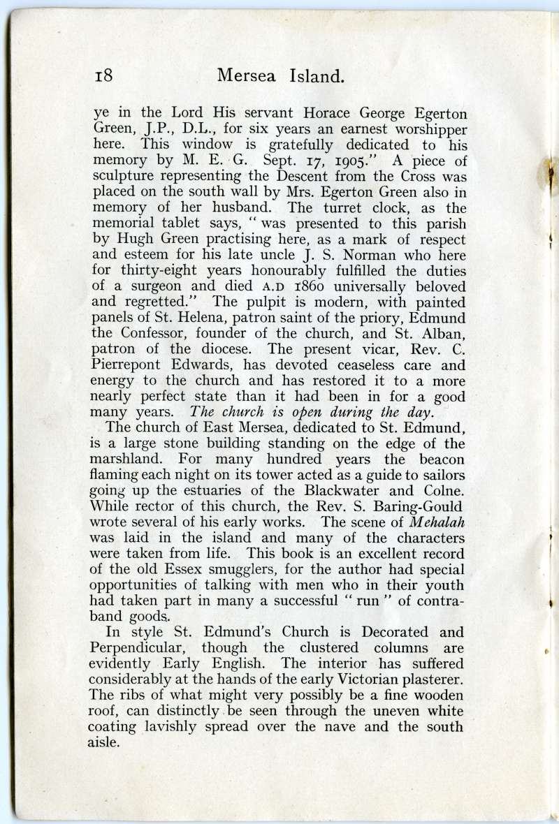 Homeland Handy Guides - Mersea Island. Page 18. 