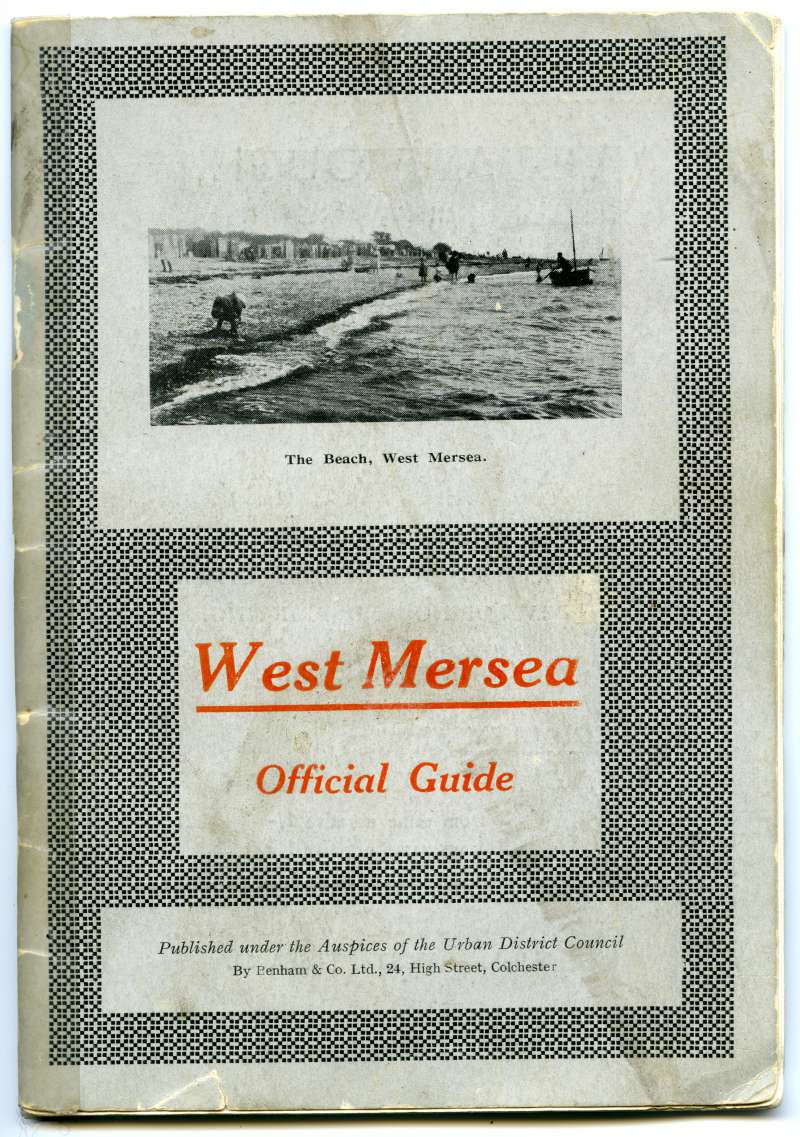 West Mersea Official Guide. Front Cover.