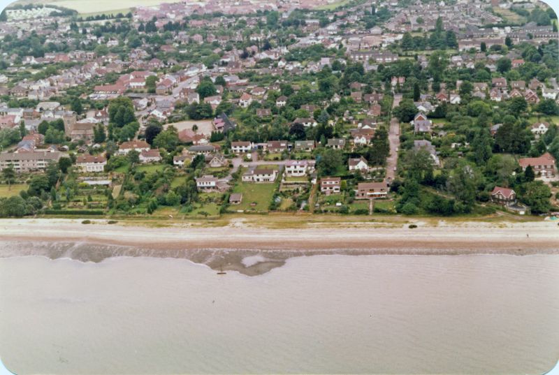 New Orleans on the left, Beach Road towards the right. 
