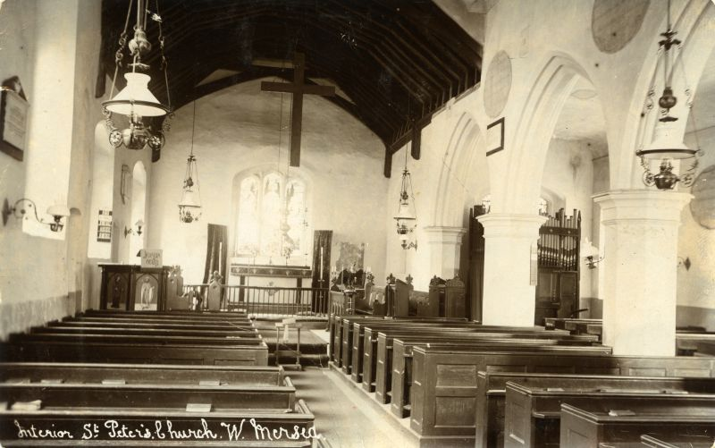 Interior of St. Peter's Church, West Mersea.
