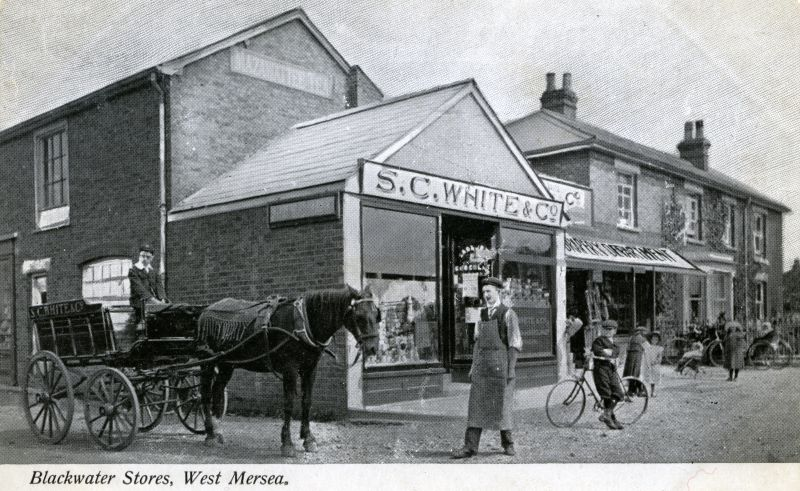 Blackwater Stores. S.C. White & Co., Church Road. 