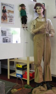 Women's Land Army Display