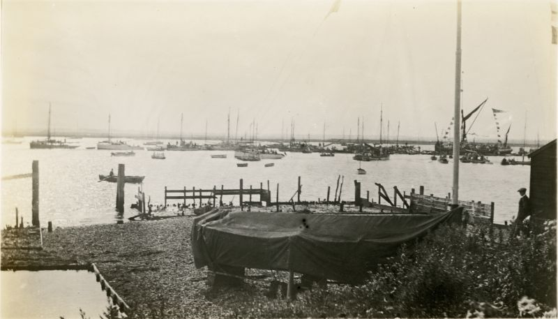 West Mersea Town Regatta in the early 1930s 