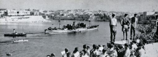 ROCHESTER CASTLE arriving Malta August 1942
