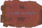 30. ID DCK_FAV_001 Fair Haven Estate brochure. Cover.