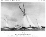 West Mersea Yacht Club Regatta. From The Yachtsman 30 July 1932.