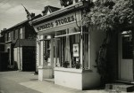 17. ID CW2_P21_005 Howards Stores, run by Repton Dixon, decorated for the 1953 Coronation. On the north side of Church Road - the shop has changed, but [in 2012] the wisteria by...