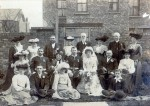 23. ID DIS2009_MAR_049 The earliest photograph lent for the 2009 Marriage Display was of the marriage in 1903 of Arthur Moore Lord (Ralph Lord's grandfather) and Ellen Isabel Pates....