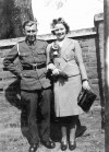7. ID DIS2009_MAR_065 During the war, serving personnel had to fit marriages around leave and marry when and where they could, so Peter Farthing of Mersea, serving in the Army, ...
