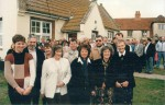 21. ID JMO_SCH_005 Salcott - the opening of the Village Hall in 1996.