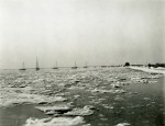 153. ID PMS_WIN_021 Frozen sea at Mersea, January 1940. Photo by Howard Winch, who wrote on back: