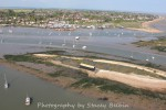 12. ID SBB_3410 Packing Shed and Packing Marsh Island. Coast Road, the Victory and houseboats.