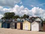 110. ID MLD_059 Beach Huts, West Mersea, by the bottom of Willoughby Avenue.