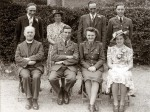 9. ID RUD_BK5_001 Wedding of Miss Winifred Edge, A.T.S., of Hanmer, Shropshire to Eric Archibald French, Corporal, RAF, at the Methodist Church 10 August 1943.