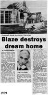 24. ID MST_OPA_405 Blaze destroys dream home. New home for West Mersea's Police Sergeant in Broomhill Road a ruin. Sergeant Terry Hymas [pictured].