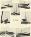 8. ID BF69_001_033 Aldous Successors Ltd catalogue --- page 30. Yachts on slipways. Pictures of Motor Yacht ENDYMION, Steam Yacht ELFRIDA, cutter SHAMROCK, Steam Yacht ROSABELLE...